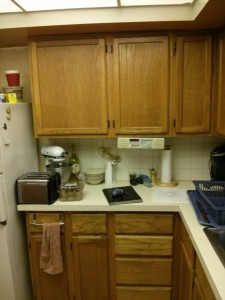 Before the kitchen remodeling